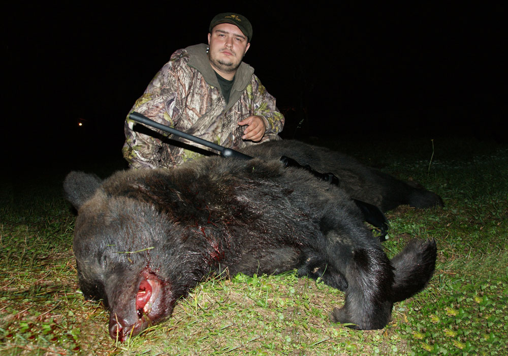 как взять медведя на рогатину